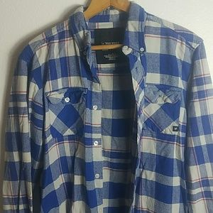 Mens Flannel long sleeve shirt